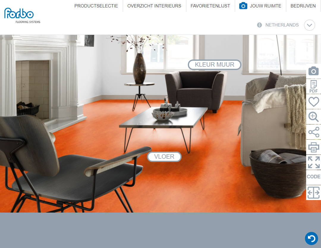 Forbo Roomplanner