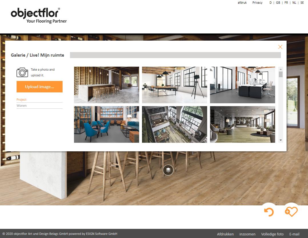 Objectflor Roomplanner